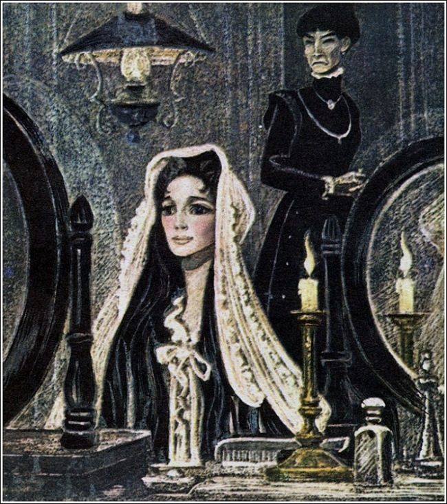 Jesse and Morgiana. Illustration by Savva Brodsky