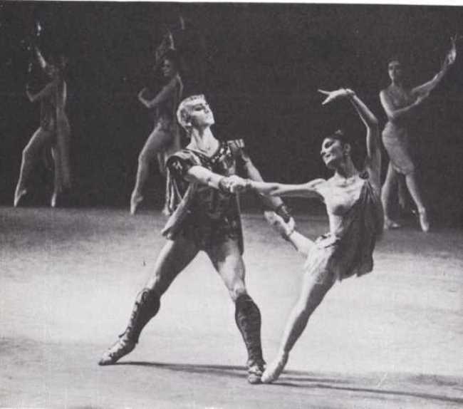 Krasse - M. E. Liepa, Aegina - S. D. Aderkhayeva. Bolshoi Theater