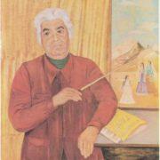 Portrait of A. I. Khachaturyan by Zoya Lagerkrantz. 1978