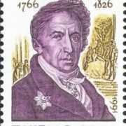 Post stamp dedicated to Karamzin