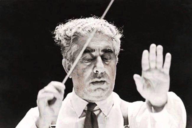 Soviet conductor A. Khachaturyan