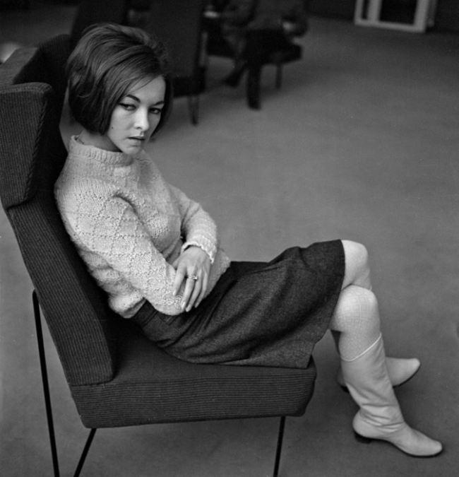 Talented Barbara Brylska