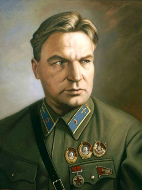 Valery Chkalov legendary Soviet pilot