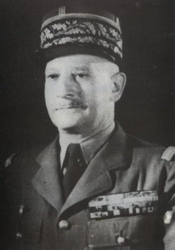 Famous Russian-born French general Zinovy Peshkov