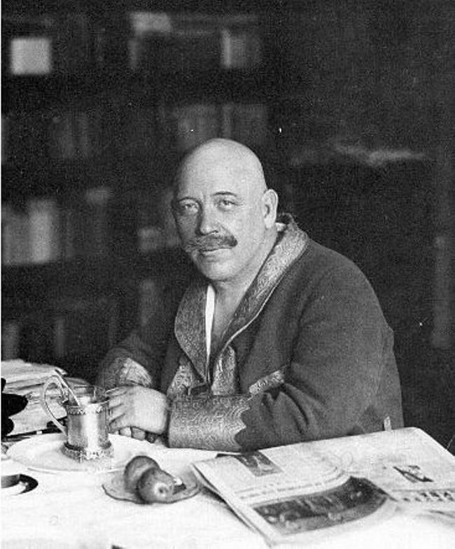 Prominent Soviet writer Demyan Bedny