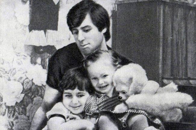 Valery Kharlamov with his children