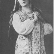 A.V. Nezhdanova in the role of Martha. Bolshoi Theater, 1933