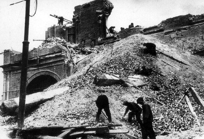 Destruction of Sukharev Tower