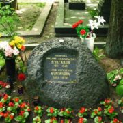 Grave of Mikhail Bulgakov