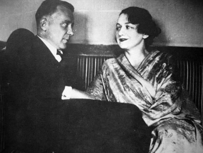 Mikhail Afanasyevich and Elena Bulgakova