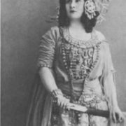 N.A. Obukhova in the role of Kashcheyevna. The Bolshoi Theater, 1917