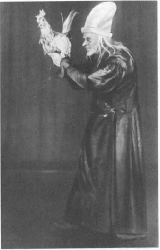 S. Lemeshev in the role of Stargazer. Bolshoi Theater, 1933