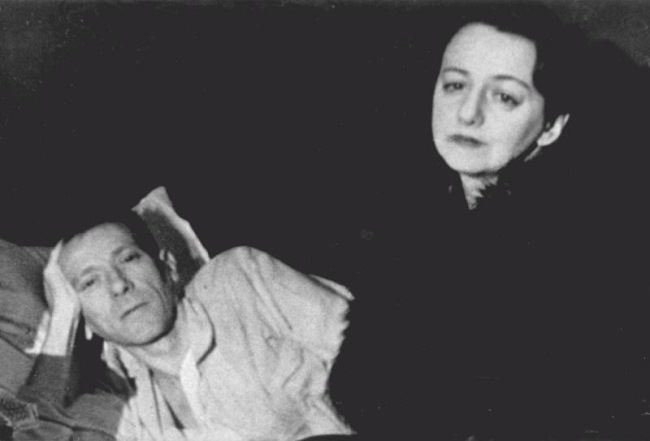 The last photo of Mikhail Bulgakov with his wife, February 1940