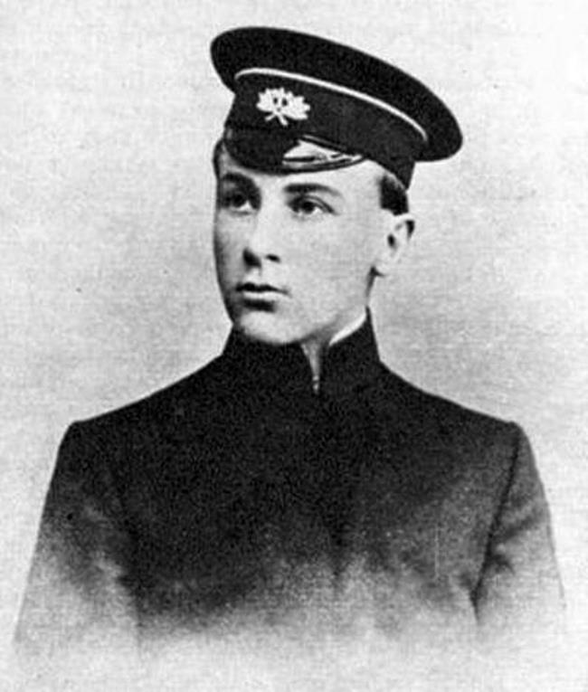 Young Mikhail Bulgakov