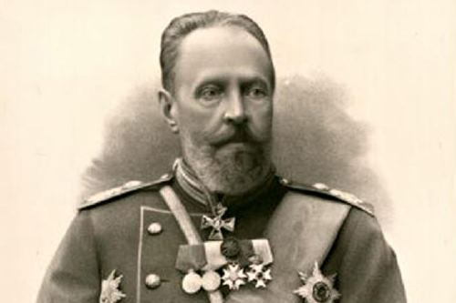Russian statesman Count Sergei Yulyevich Witte