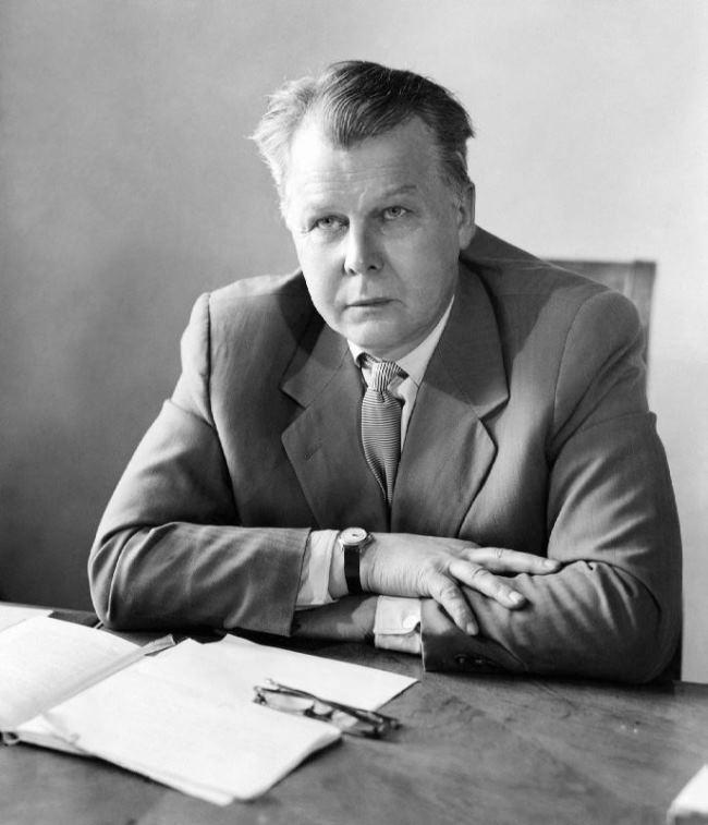Famous poet Alexander Tvardovsky.