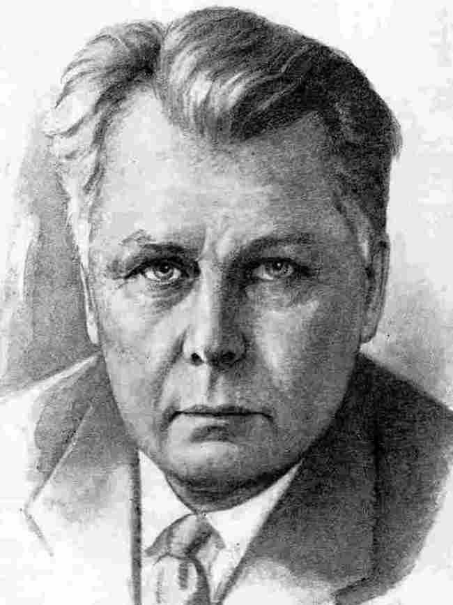 Outstanding poet Alexander Tvardovsky.